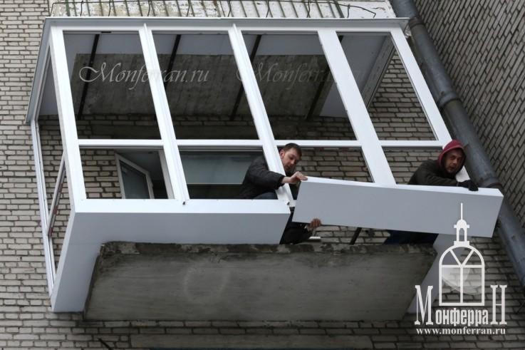 Пластиковые окна Остекление и отделка балконов лоджий
