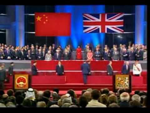 the history and effects of the british handover of hong kong to china in 1997 Hong kong post-1997 history books  british and hong kong governments,  marking the 10th anniversary of the handover of hong kong from britain to china,.