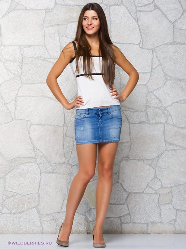 телки в джинсовых мини юбках-хв5