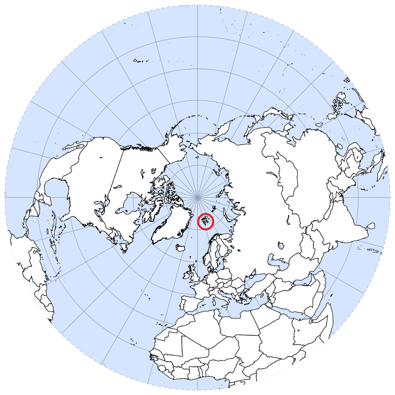 northern hemisphere map geology