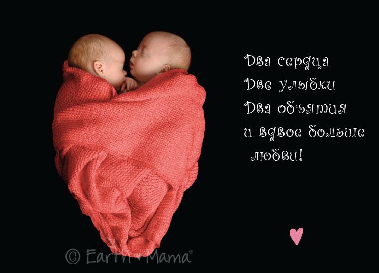 Двойняшки девочки стихи