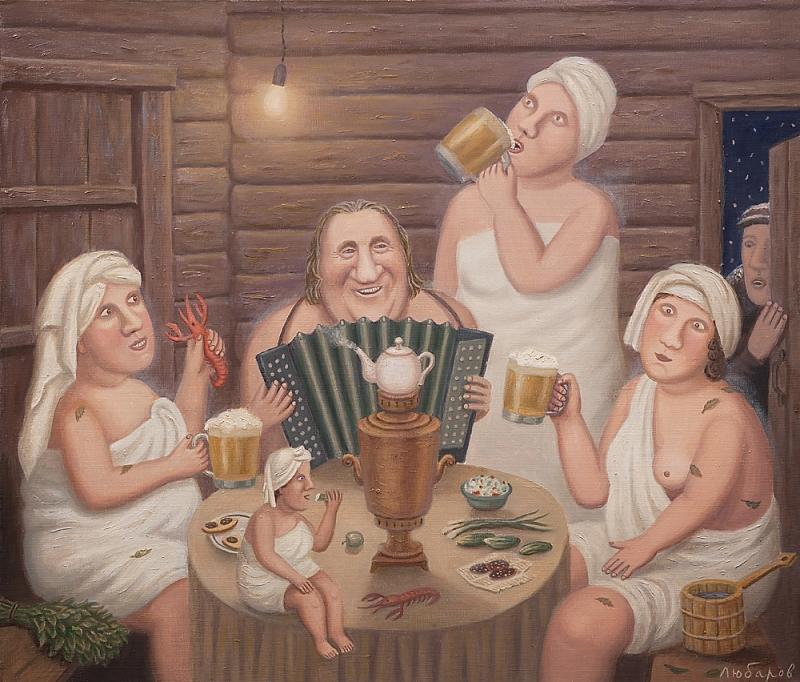Картинки бани с девушками прикольные