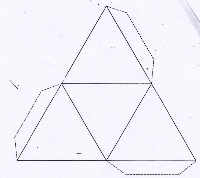 Как сделать треугольную пирамиду 427