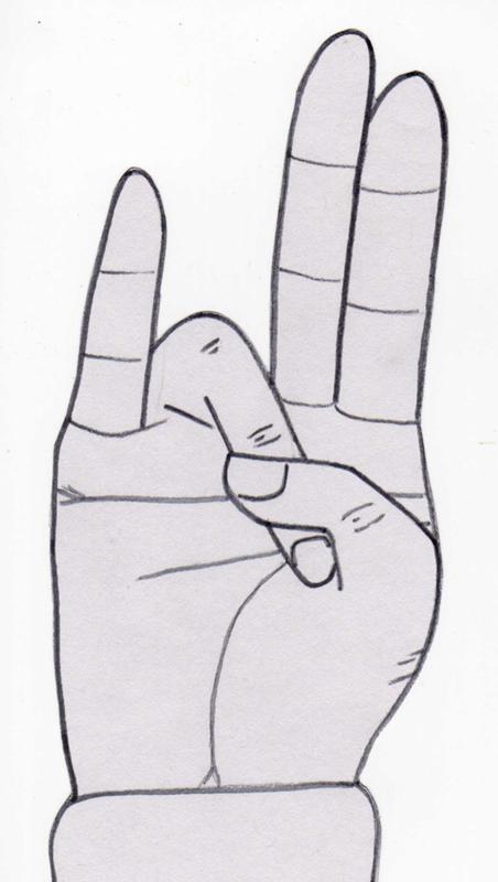 это движение руками когда сделал всячески