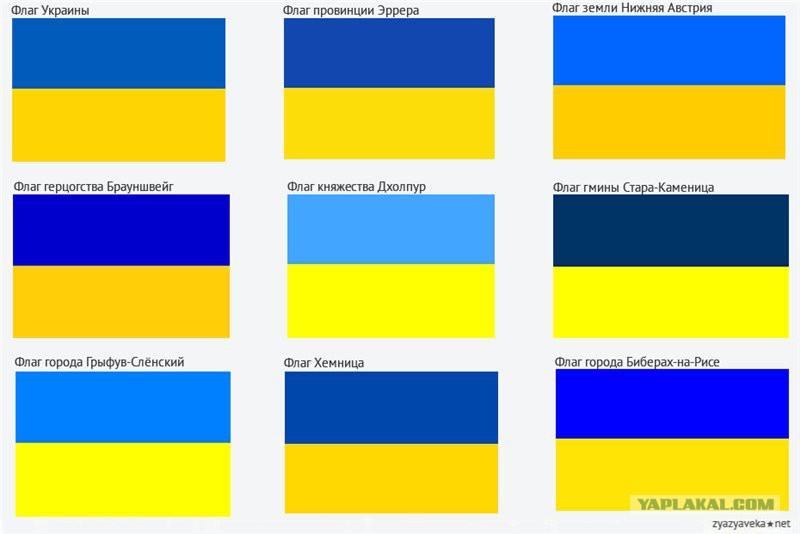 году было флаг украины что символизирует желтый цвет использовать традиционный