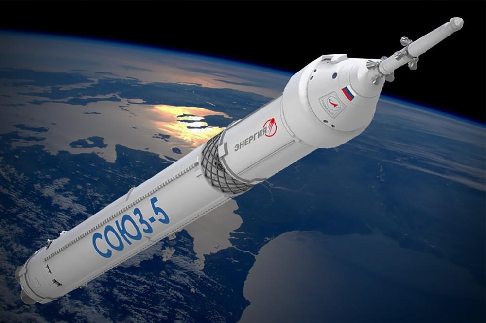 РН Союз-5 - в такой конфигурации с Орлом и САС летать не будет никогда, ранняя версия