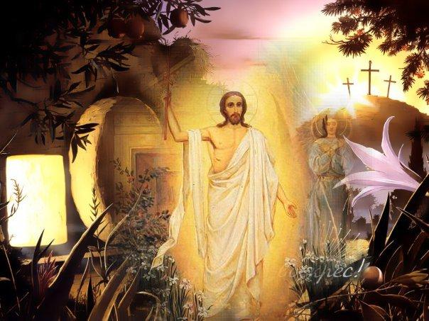 поздравления с воскресением иисуса христа том, как это
