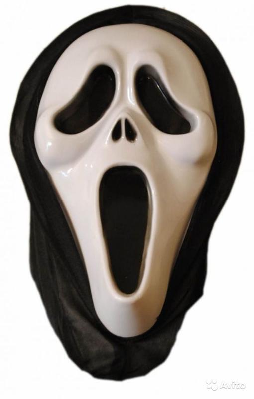 маска черно белая как называется