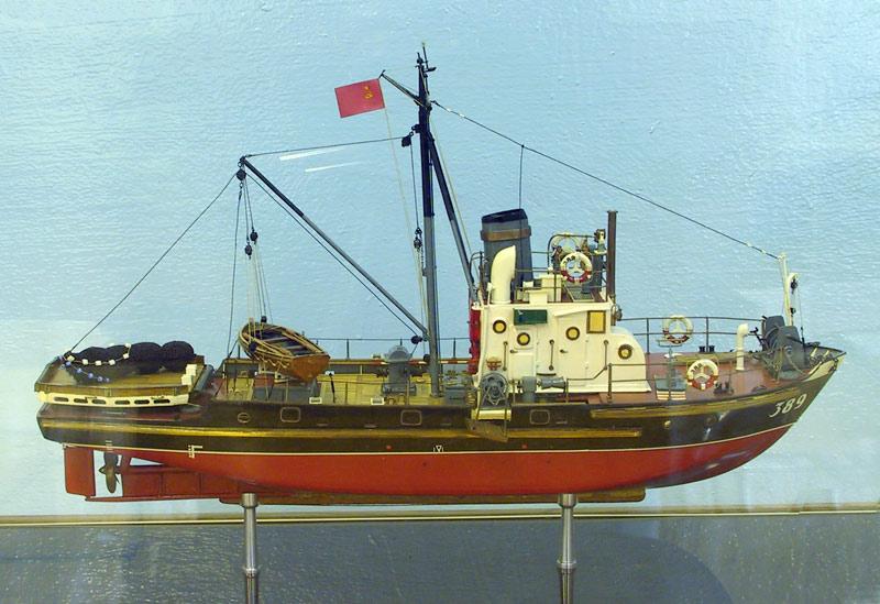 рыболовное судно сейнер