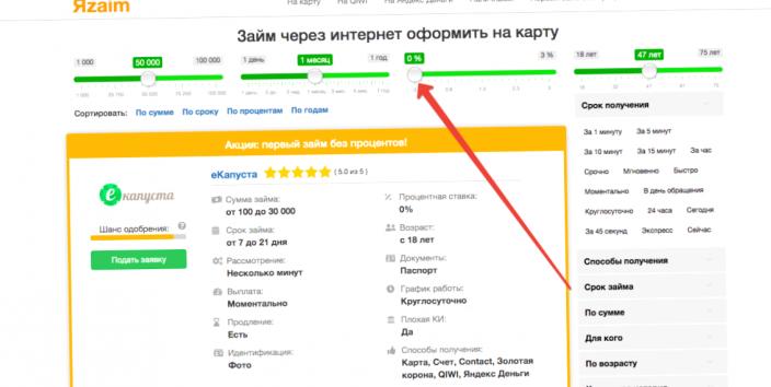 Взять кредит до 500000 рублей без справок и поручителей