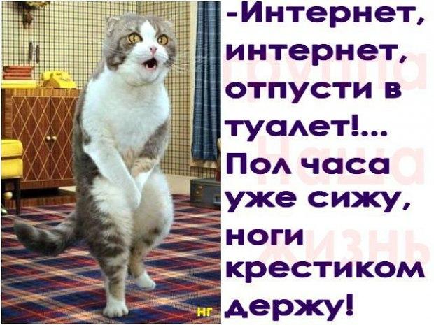 Фото с надписью интернет интернет отпусти в туалет, поздравление маме