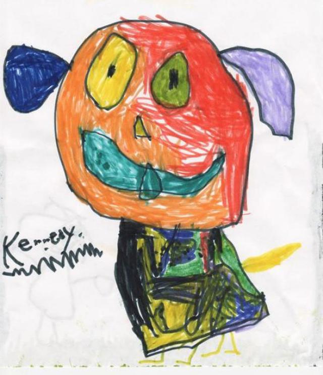Как нарисовать смешные детские рисунки, для